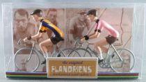 The Original Flandriens - Cycliste Métal - Les Equipes Mythiques - Ijsboerke & Gazzetta dello Sport