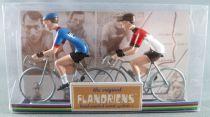 The Original Flandriens - Cycliste Métal - Les Equipes Mythiques - Salvarani & Faemino