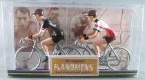 The Original Flandriens - Cycliste Métal - Les Equipes Mythiques - Televizier & Molteni (Noir)