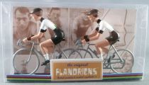 The Original Flandriens - Cycliste Métal - Les Equipes Protour 2019 - Dimension Data
