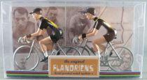 The Original Flandriens - Cycliste Métal - Les Equipes Protour 2019 - Jumbo Visma