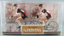 The Original Flandriens - Cycliste Métal - Les Equipes Protour 2019 - Trek Segafredo