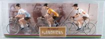The Original Flandriens - Cycliste Métal - Les Héros - Bahamontes Maillot Margnat Paloma bleu + Orange + Espagne