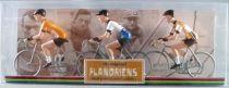 The Original Flandriens - Cycliste Métal - Les Héros - Bernard Hinault Maillot Renault + Gitane + Renault Elf