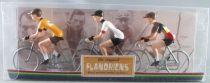 The Original Flandriens - Cycliste Métal - Les Héros - Eddy Merckx (4) Maillot C&A + Moltoni Belgique + Faema Orange