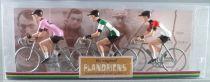 The Original Flandriens - Cycliste Métal - Les Héros - Eddy Merckx (5) Maillot Faemino + Moltoni Rose + Bieren van Bever