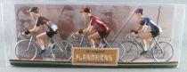 The Original Flandriens - Cycliste Métal - Les Héros - Fabian Cancellara Maillot Radio Shack + Saxo Bank + Mapei