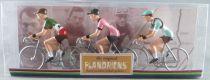 The Original Flandriens - Cycliste Métal - Les Héros - Fausto Coppi Maillot Legnano + Bianchi Pirelli + Bianchi Ursus