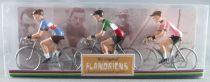 The Original Flandriens - Cycliste Métal - Les Héros - Felice Gimondi Maillot Bianchi Faema + Salvarani + Italien