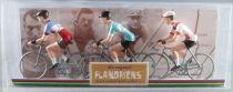The Original Flandriens - Cycliste Métal - Les Héros - Jacques Anquetil Maillot Helyet\' + Bianchi + Bic