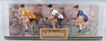 The Original Flandriens - Cycliste Métal - Les Héros - Lance Armstrong Maillot Discovery + Motorola + Us Postal