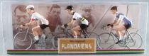 The Original Flandriens - Cycliste Métal - Les Héros - Philippe Gilbert Maillot Omega Pharma Lotto + Bmc + Quick Step
