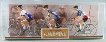 The Original Flandriens - Cycliste Métal - Les Héros - Raymond Poulidor Maillot Gan Mercier + Mercier Hutchinson + Mercier Franc