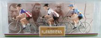 The Original Flandriens - Cycliste Métal - Les Héros - Roger De Vlaeminck Maillot Brooklin + Daf Coted\'or + Brooklin Belgique
