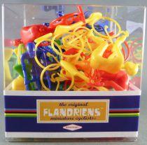 The Original Flandriens - Cycliste Plastique - Boite de 20 Pièces 4 Couleurs