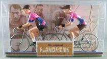 The Original Flandriens -Cyclist (Metal) - Protour 2019 Teams - Education First