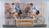 The Original Flandriens -Cyclist (Metal) - Protour 2019 Teams - Movistar