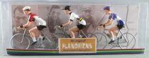 The Original Flandriens -Cyclist (Metal) - The Cycling Hero\'s - Eddy Merckx 3Pack Faema + Fiat + Moltoni World Champ Jersey