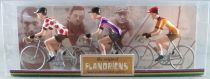 The Original Flandriens -Cyclist (Metal) - The Cycling Hero\'s - Joop Zoetemelk 3Pack Raleigh + Miko Mercier + Raleigh Polka Jers