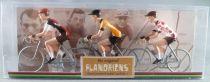 The Original Flandriens -Cyclist (Metal) - The Cycling Hero\'s - Lucien Van Impe 3Pack Lejeune + Gitane + Gitane Polka