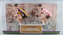 The Original Flandriens -Cyclist (Metal) - The Mythic Teams -  Ijsboerke & Gazzetta dello Sport