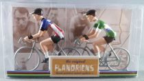 The Original Flandriens -Cyclist (Metal) - The Mythic Teams - Brooklyn & Sanson