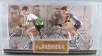 The Original Flandriens -Cyclist (Metal) - The Mythic Teams - Mini Flat & Mercier Hutchinson