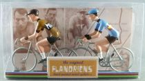The Original Flandriens -Cyclist (Metal) - The Mythic Teams - Moltoni (Ochre)i & Belge