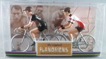 The Original Flandriens -Cyclist (Metal) - The Mythic Teams - Televizier & Molteni (Black)