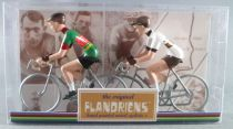 The Original Flandriens -Cyclist (Metal) - The Mythic Teams - Wiels & Rainbow Jersey