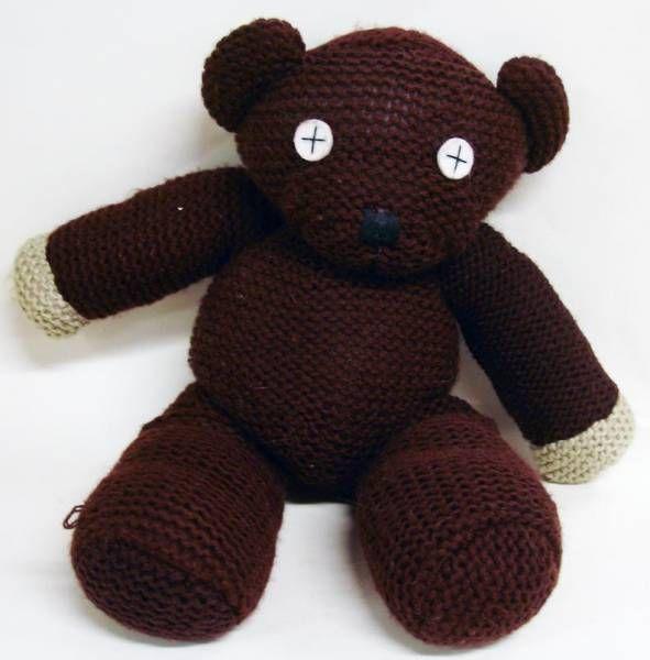 Mr Bean's Style Bear / Crochet Pattern / Amigurumi Pattern ...   600x591