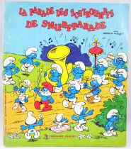 The Parade of Smurfs - Panini Stickers collector book