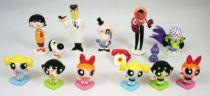 The Powerpuff Girls (Les Supers Nanas) - Série complète de 12 figurines PVC