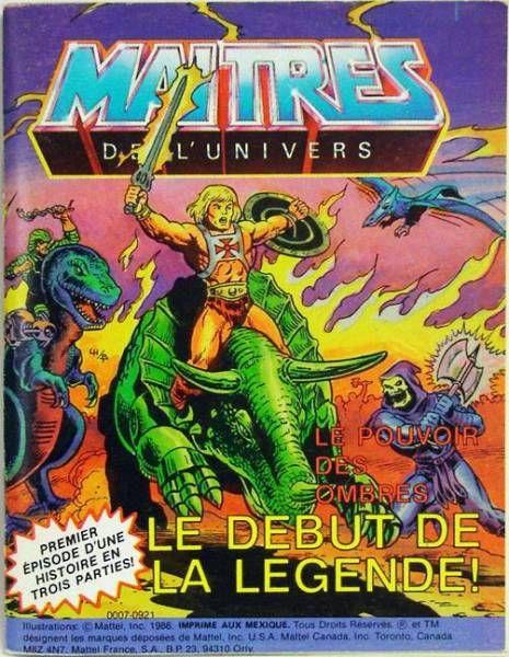 The Powers of Grayskull : The Legend Begins! (english-french-german-italian)