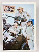 The Rat Patrol - Topps Trading Cards (1966) - Série complète 66 cartes