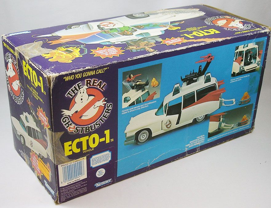 The Real Ghostbusters - Vehicle Ecto-1 (loose with box)