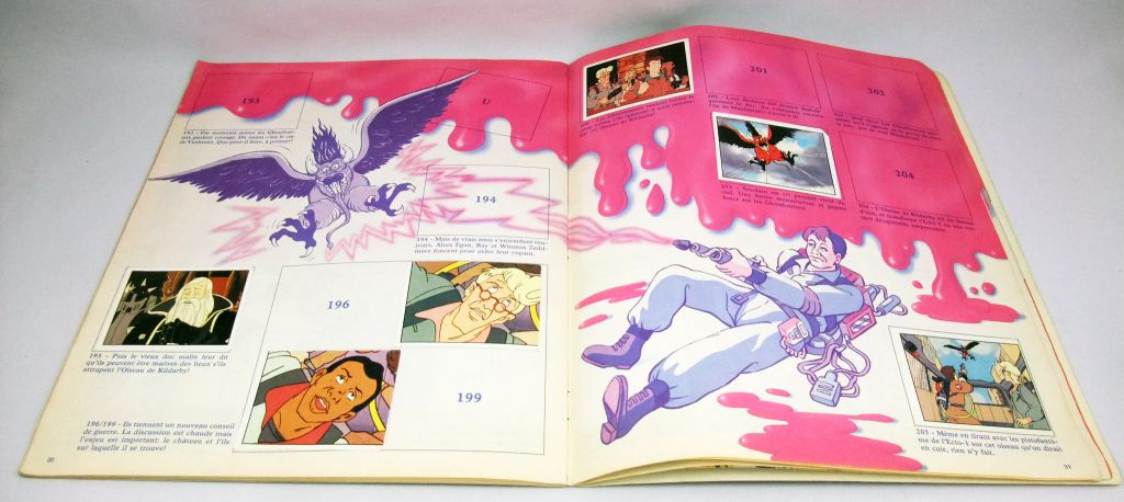 The Real Ghostbusters S.O.S Fantômes - Album Panini