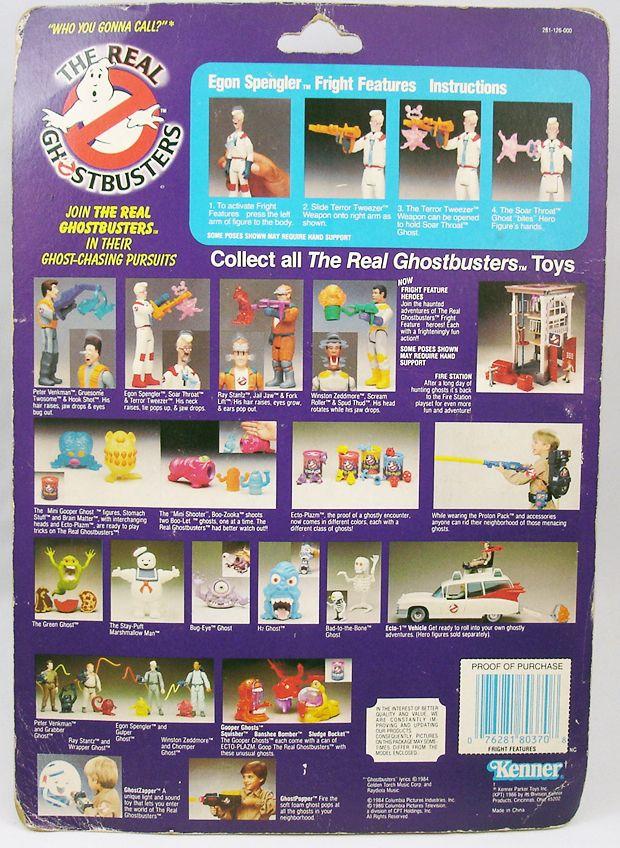 S.O.S. Fantômes - Figurine Articulée - Grand Frisson Egon Spengler Neuf en blister US (1)