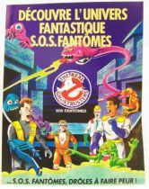 The Real Ghostbusters S.O.S. Fantômes - Poster depliant promotionnel Kenner