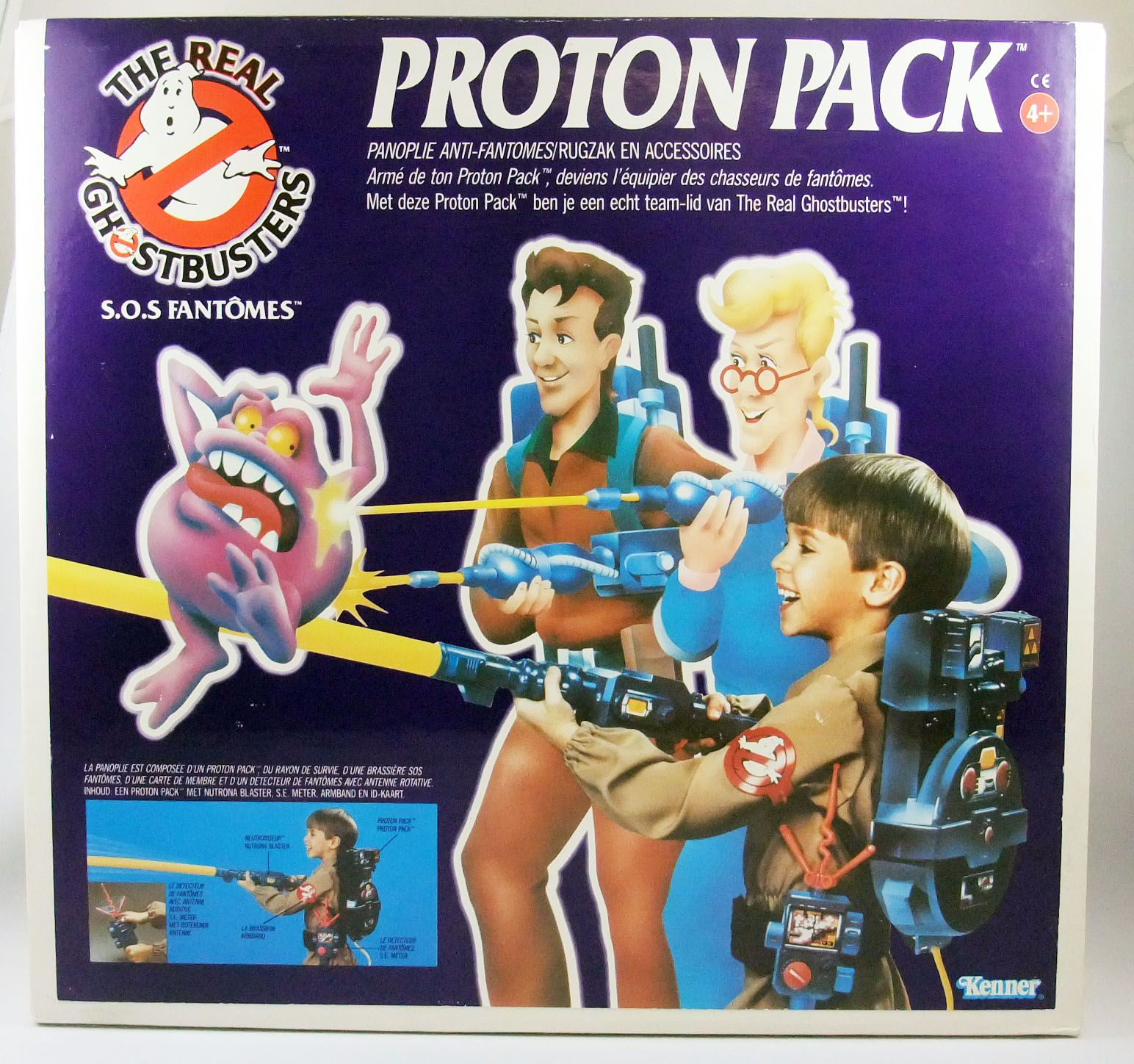 The Real Ghostbusters S.O.S. Fantômes - Proton Pack - Kenner