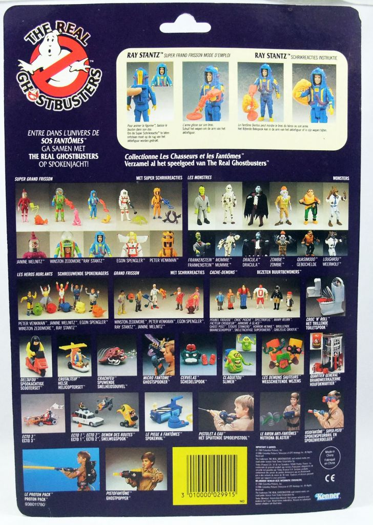 The Real Ghostbusters S.O.S. Fantômes - Super Grand Frisson Ray Stantz