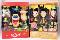 The Ren & Stimpy Show - Super7 - Figurines articulées Ultimate Deluxe Ren & Stimpy
