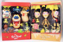 The Ren & Stimpy Show - Super7 - Figurines articulées Ultimate Deluxe Ren & Stimpy