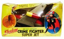 The Shadow - Crime Fighter Super Jet  (Battery Operated) - Madison 1976