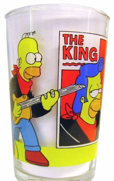The Simpsons - Amora Mustard glass - Homer