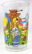 The Simpsons - Amora Mustard glass - Playing indians