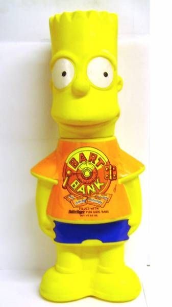 The Simpsons - Bank - Bart