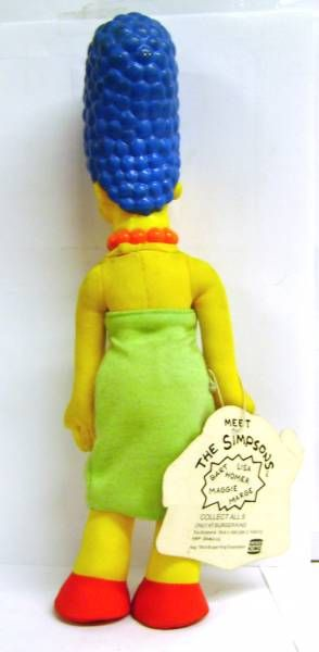 The Simpsons - Burger King Premium Doll - Marge