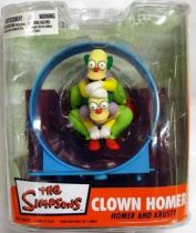 The Simpsons - Clown Homer & Krusty - McFarlane
