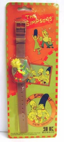 The Simpsons - Electronic Clock- Lisa